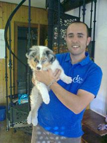 Eliseo Rodríguez, educador canino de LealCan