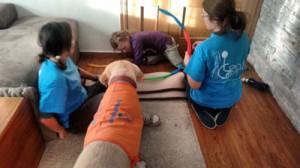 Terapia asistida con Cristina y Dogma