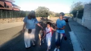 terapia con cris en la calle